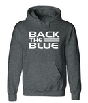 Back The Blue Hoodie