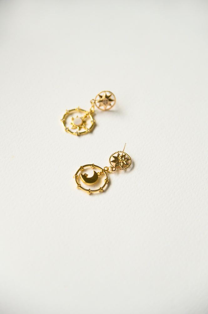 Maurelle Mismatched Earrings (S925)