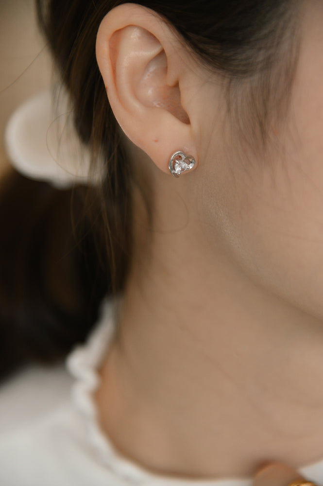 Little Love Studs (S925)