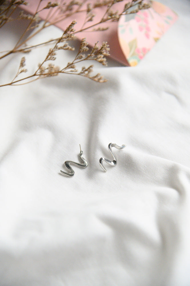 Hollis Earrings in silver (S925)