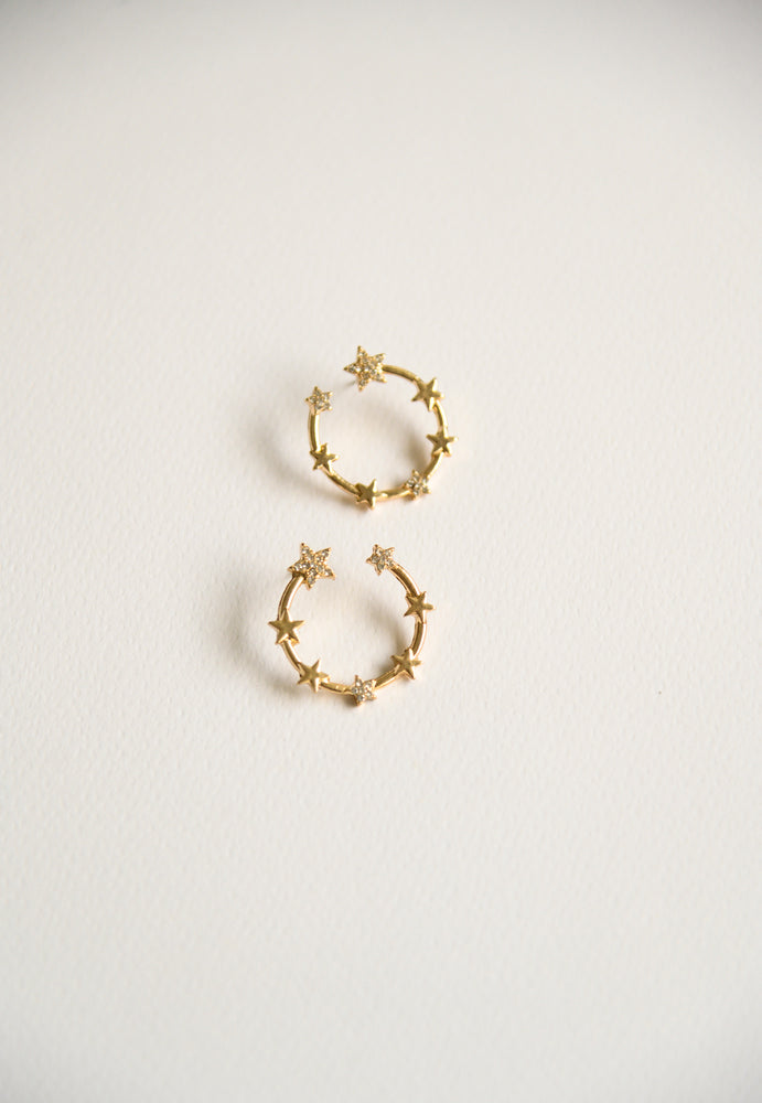 Soleil Star Earrings (S925)
