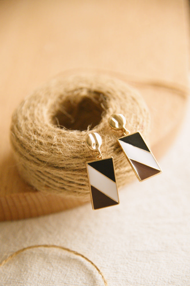 Load image into Gallery viewer, The Palette Earrings in dark