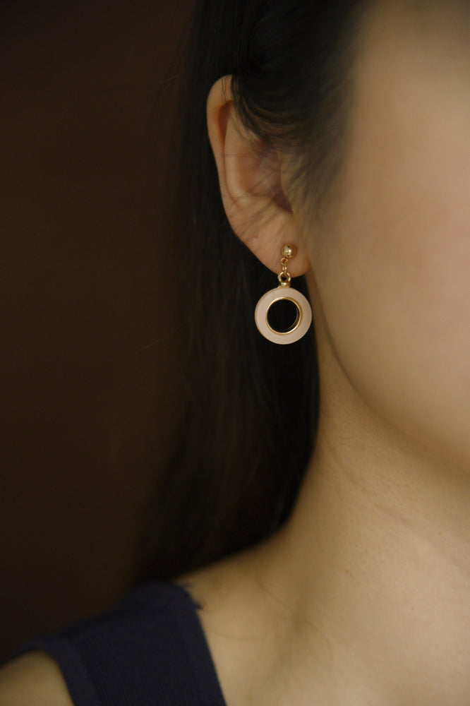 Quartz Earrings (S925)