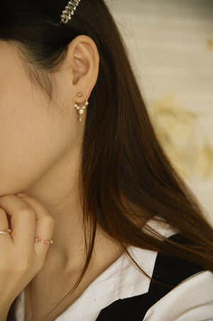 Locket Mismatched Earrings (S925)