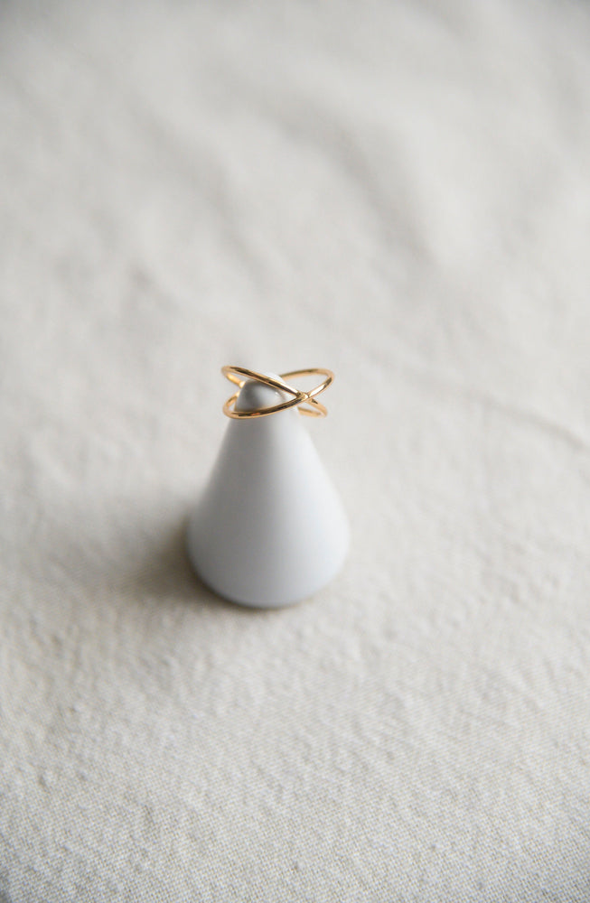 Axel Ring in gold