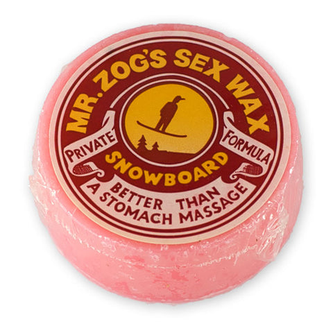 Mr.Zog's sexwax snowboard wax