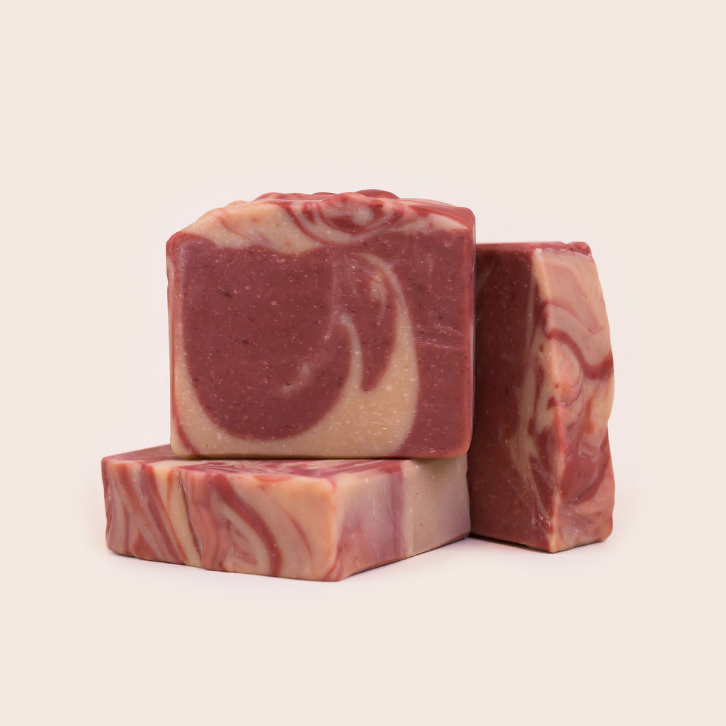 Rock'n Raspberry Goat Milk Soap