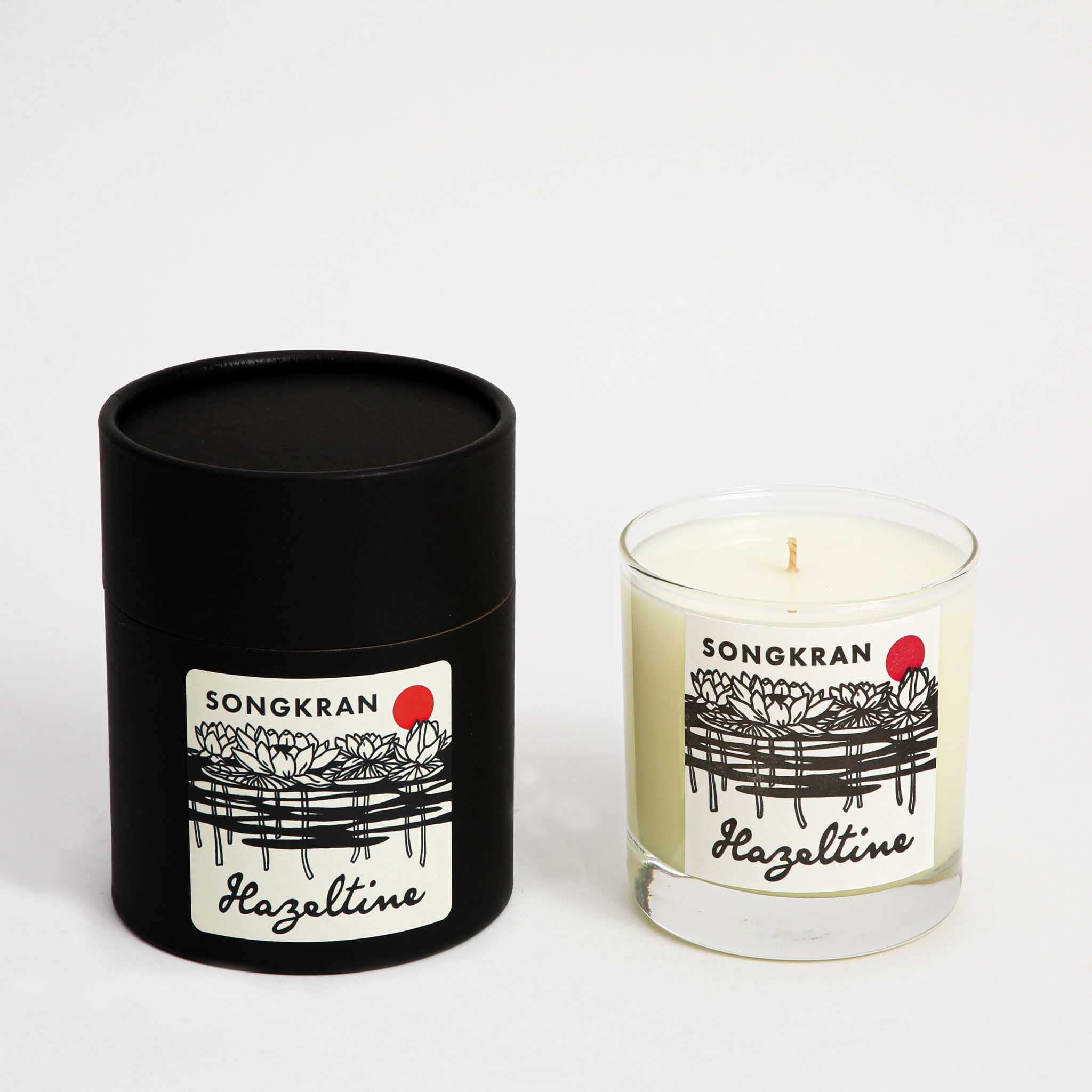 Songkran Scented Candle with Box