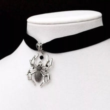 Load image into Gallery viewer, Gothic Spider Choker