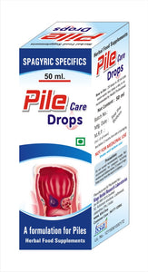 Pile Care Drops-50ml ( A formulation for Internal and External hemorrhoids)