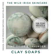 Clay Soaps Pebble Shape