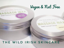 Load image into Gallery viewer, VEGAN MASSAGE WAX Starter pack X 5. Nut Free. Natural Ingredients.