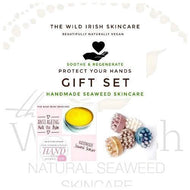 Gift Set. Protect Your Hands . Set contains Antibacterial Soap & Anti Ageing Hand Balm - TheWildIrishSkincare