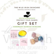 Gift Set for Hands. Massage Bar Antibacterial Soap & Anti Ageing Hand Balm. Vegan. Palm Free. - TheWildIrishSkincare