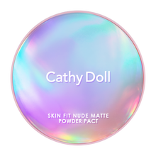 Load image into Gallery viewer, Skin Fit Nude Matte Powder Compact SPF30+++