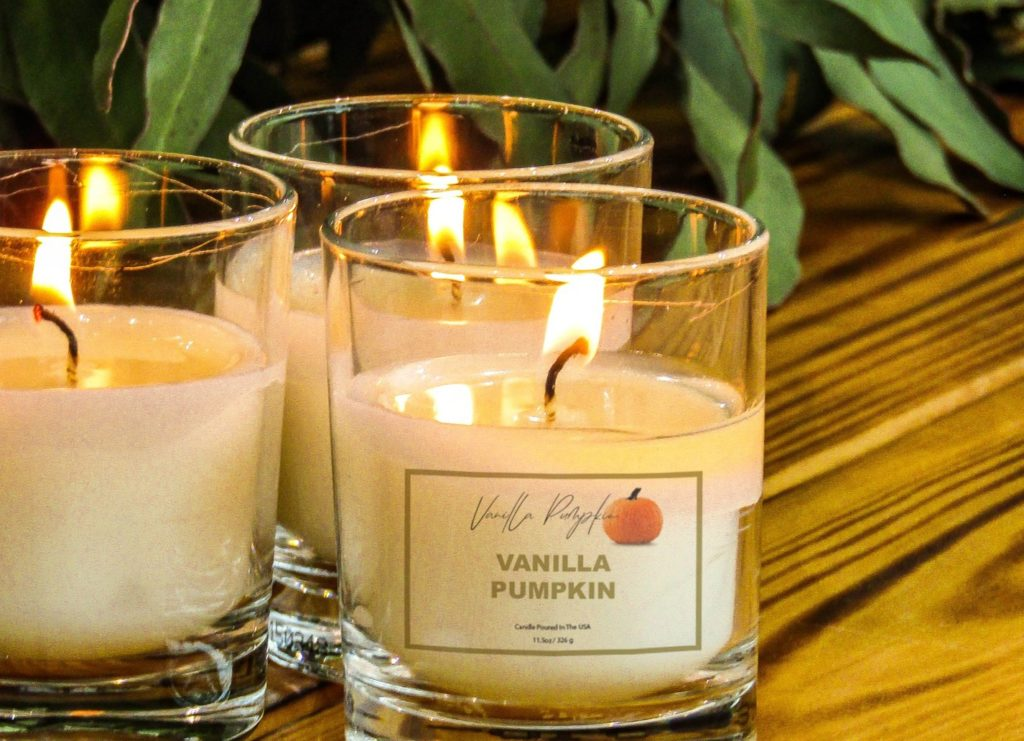 Candle label