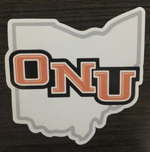 College and University Die Cut Stickers