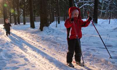 10 winter holiday activities - cross-country skiing