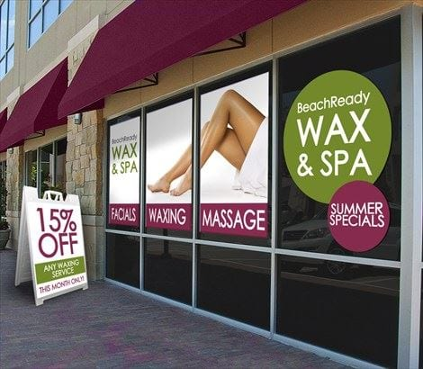 custom business storefront window decals help get your business noticed