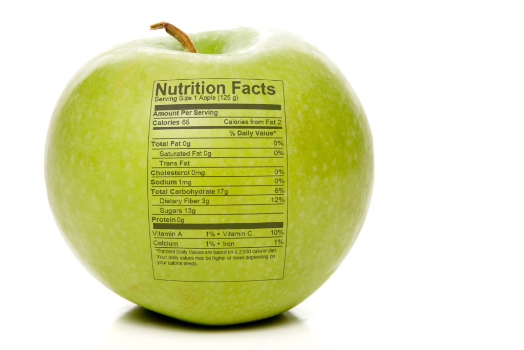 custom nutritional labels