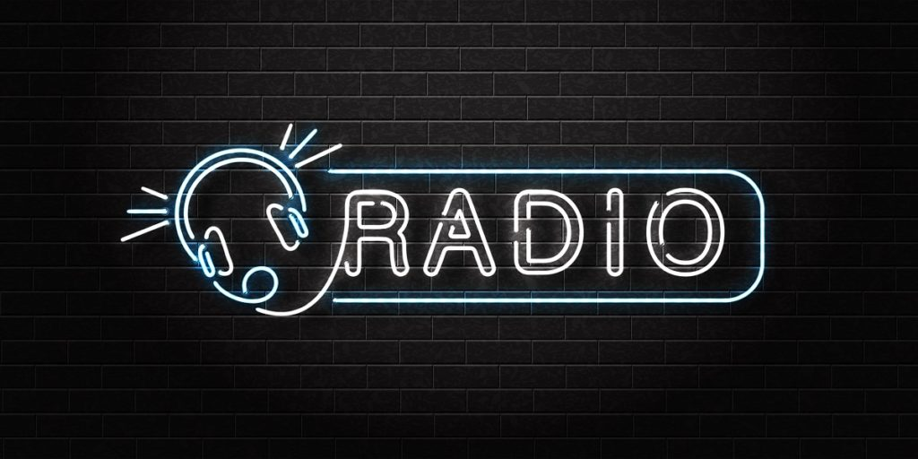 custom radio station stickers for giveaways