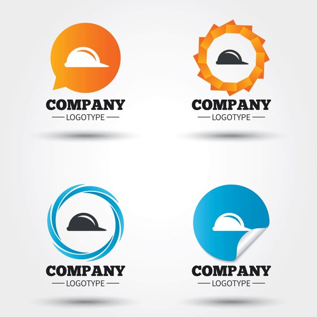 custom stickers and decals for hard hats