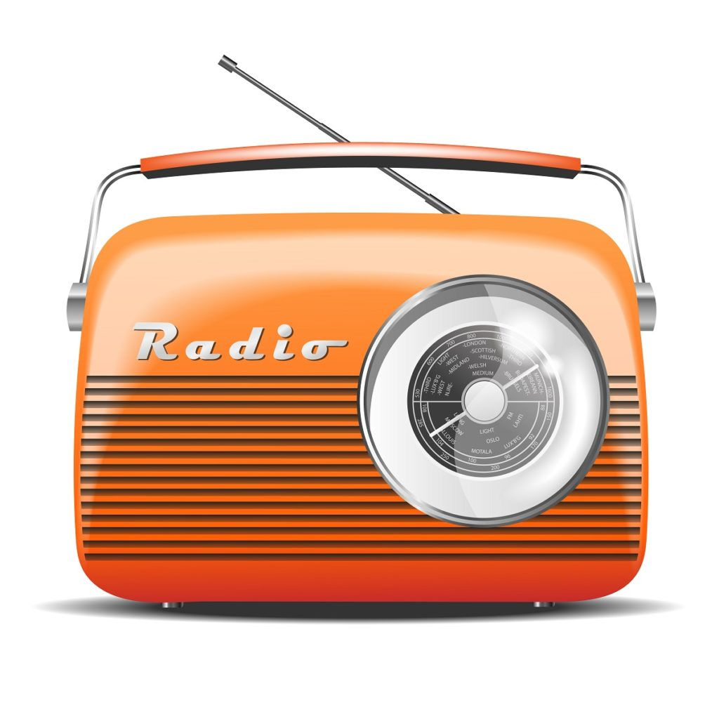promote your station with custom radio stickers