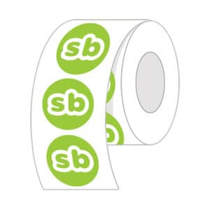 circle roll labels