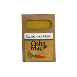 https://rootedinscotia.com/products/carrot-juice-facial-soap-osha-mae  Oatmeal Goat's Milk: (scent free) Saponified oils: Olive, coconut, palm, Organic local sunflower, Organic local safflower.Organic Local Goat's Milk, Spring water, & Oatmeal. This Traditional recipe consistently leaves your skin beautifully soft.Organic local goat's milk and Oatmeal together create A rich, creamery soap