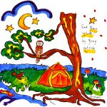 Peaceful in Nature Camping - Powerful Pillow Cases Paint Kit