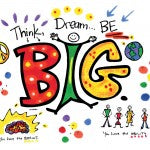 Paint - Think Big, Dream Big, Be Big! - Powerful Pillow Cases Paint Kit