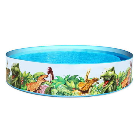 Bestway Swimming Pool Above Ground Kids Play Fun Inflatable Round Pools - Aussie Camping Store