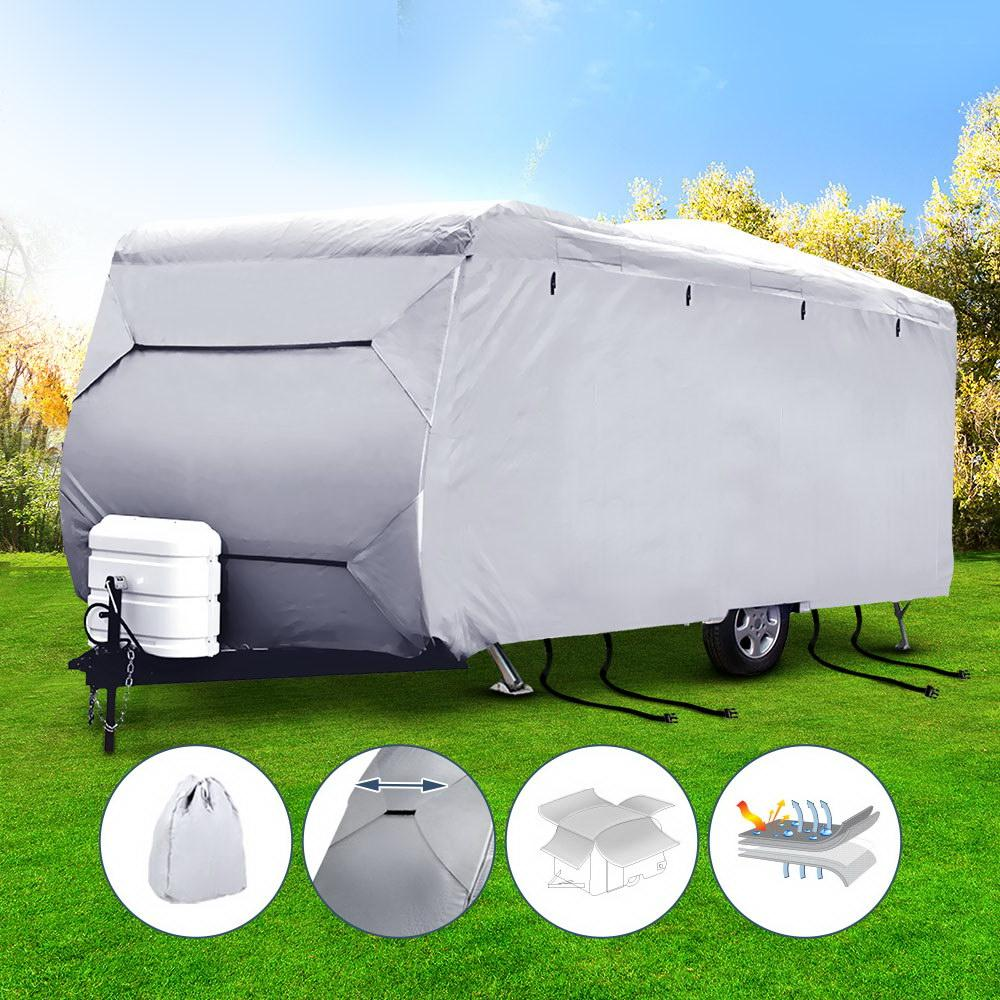 Weisshorn 18-20ft Caravan Cover Campervan 4 Layer UV Water Resistant - Aussie Camping Store