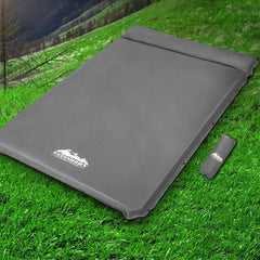Weisshorn Self Inflating Mattress - Grey - Aussie Camping Store