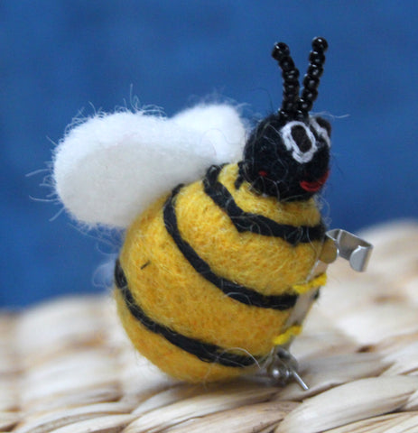 Felt Bee Brooch