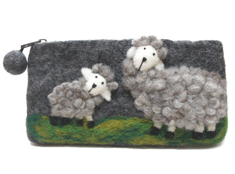 Felt Sheep Purse
