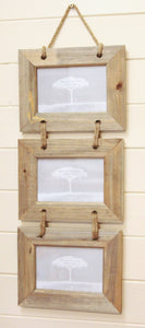 Hanging Triple Picture Frame