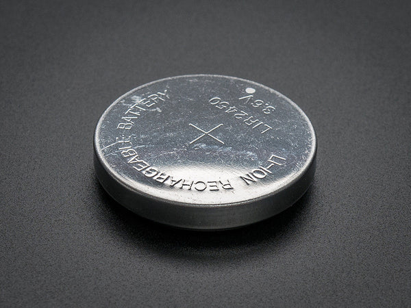 LIR2450 Rechargeable Li-Ion Coin Battery