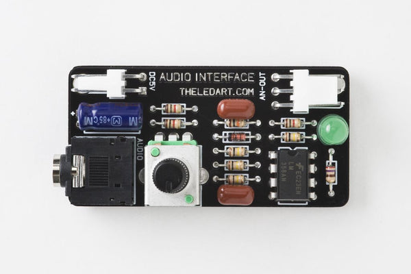 Audio Interface for Aurora – Through-hole version kit
