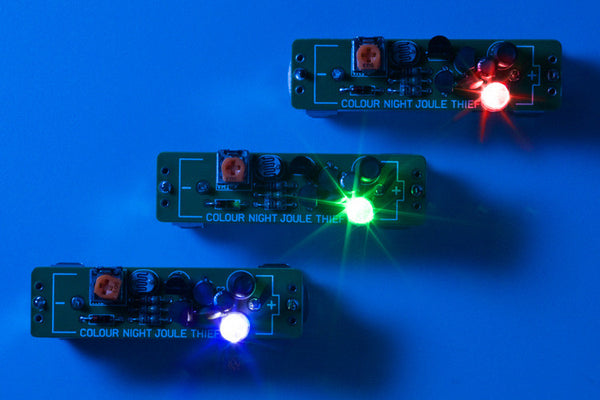 Colour Night Joule Thief kit