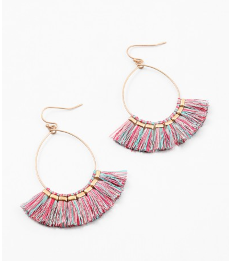 Pastel Tassel Earrings