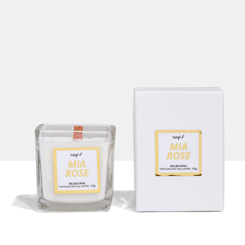 Mia Rose home | 12hr candle