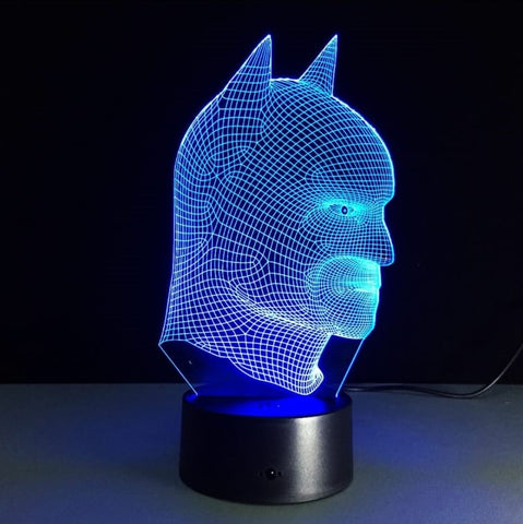 Lampe LED 3D Batman