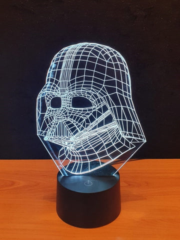 Lampe LED 3D Dark Vador | Star Wars
