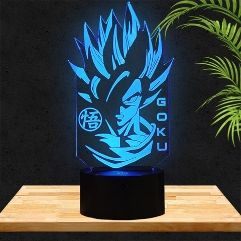 Lampe LED 3D DBZ | Son Goku