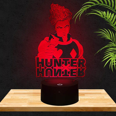 Lampe LED 3D Hisoka | Hunter x Hunter