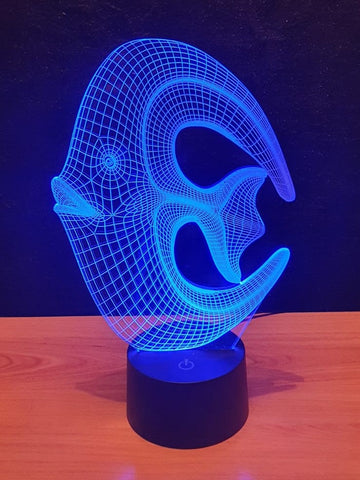 Lampe LED 3D Poisson