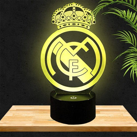 Lampe LED 3D Real Madrid
