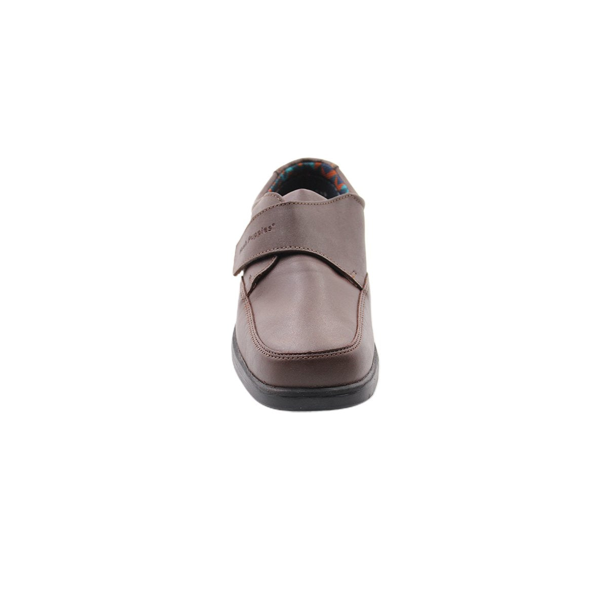 zapato escolar luka vel hp - cafe, 359.99, all day comfort, cafe, calzado, cuero, temporada 5, nino, ninos, precio regular, comprar, en linea, online, delivery, guatemala, zapatos, hush puppies