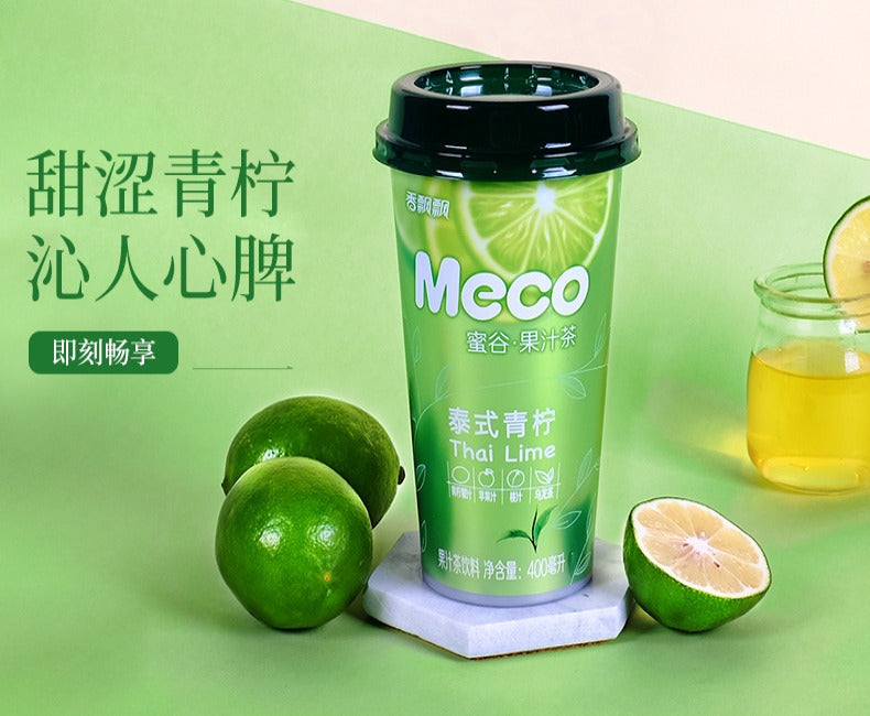 Meco Fruit Tea - Lime - 400ml